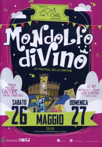 Locandina Mondolfo DiVino 2017